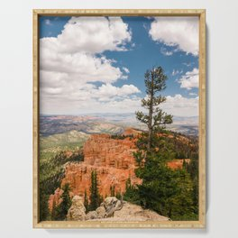 Black Birch Canyon at Bryce Canyon National Park Serving Tray