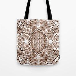 Renaissance Zentangle Tile Doodle Design Tote Bag