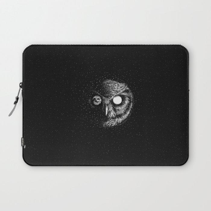 Moon Blinked Laptop Sleeve