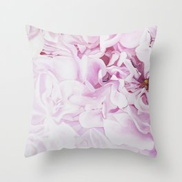 Whispers in Pink Throw Pillow