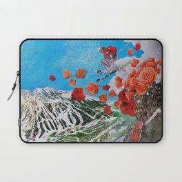 Ski Roses Laptop Sleeve