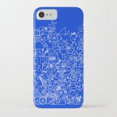 Blue Slim Case iPhone 7
