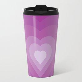 Purple heart Travel Mug
