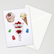 Sweet tooth Stationery Cards
