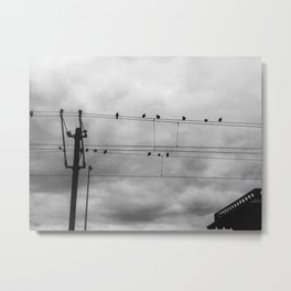Weathering The Storm Metal Print
