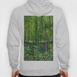 Vincent Van Gogh Trees and Undergrowth 1887 Hoody