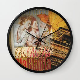 the Parisians Wall Clock