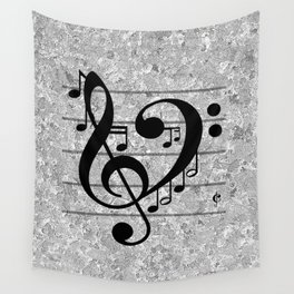 Love Music Wall Tapestry