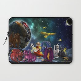 Dragonlings Space Party Laptop Sleeve