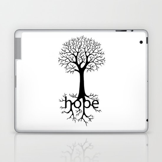 Hope Takes Roots Laptop & iPad Skin