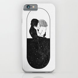 Love in medical pill. iPhone Case