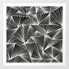 Inverted TriangleAngle Art Print