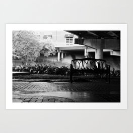 bunk at night Art Print