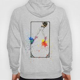 Kicking Up The Color Swing Hoody