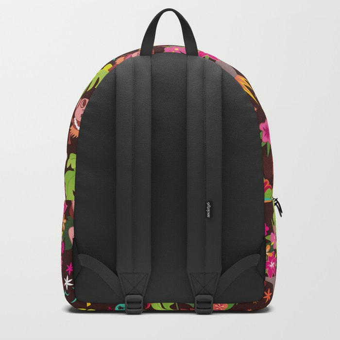 Hula Cuties Pattern Backpack
