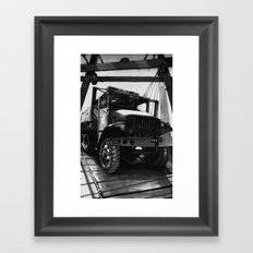 GMC Truck Part 1 Framed Art Print