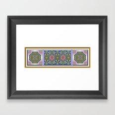 A Spring Flower Garden Framed Art Print