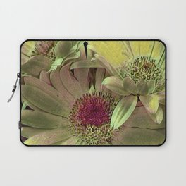 Rainbow Floral Yellow Lime Laptop Sleeve