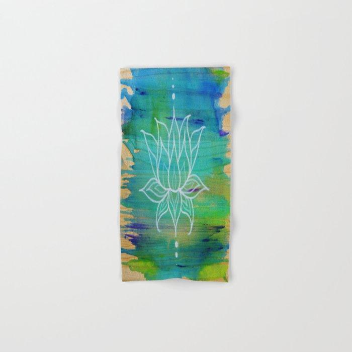 Lotus Love Hand & Bath Towel