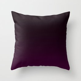 Aubergine Gradient Throw Pillow