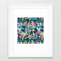 hunter Framed Art Prints featuring Hunter by La Señora
