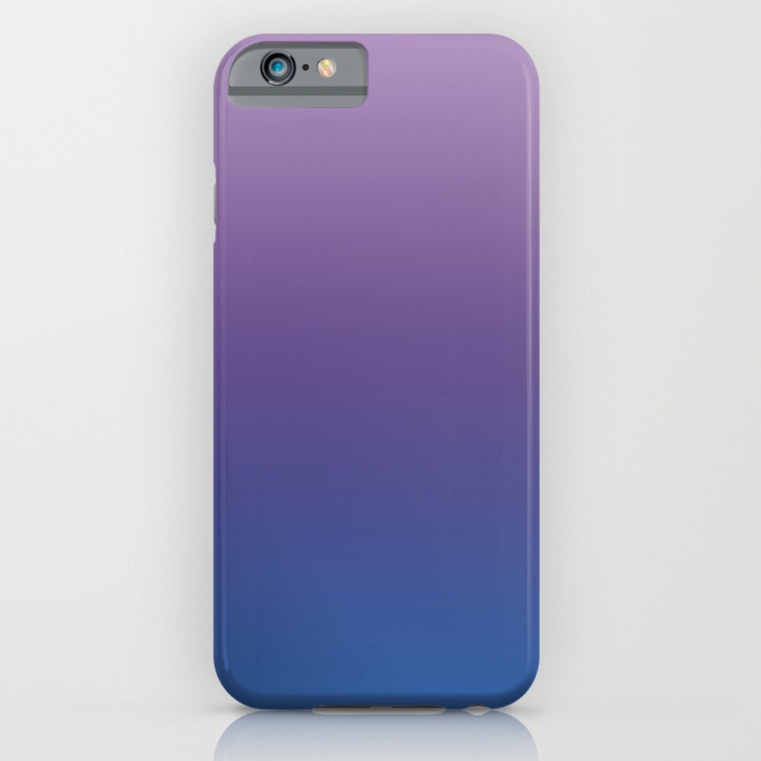 uk availability 8d890 33048 Ultra Violet Blue Lilac Ombre Gradient Pattern iPhone Case