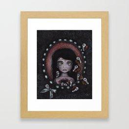 Beauty Within Me Framed Art Print