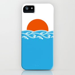 Japanese Tsunami  iPhone Case