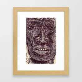 20101005 _THAT'S QUITE ENOUGH _BCN Framed Art Print