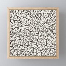 Crack Heaven Framed Mini Art Print