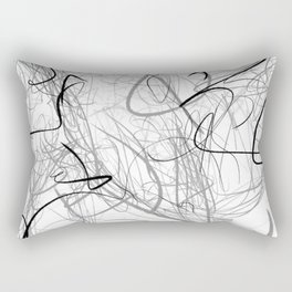Crazy lines Rectangular Pillow