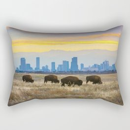 City Buffalo Rectangular Pillow