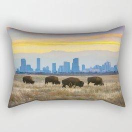 City Buffalo Rectangular Pillow
