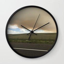 I-25 Storm Wall Clock