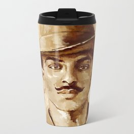 Shaheed-E-Azam Bhagat Singh Metal Travel Mug