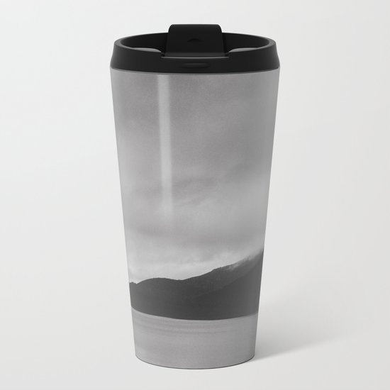 Bonjour Tristesse Metal Travel Mug