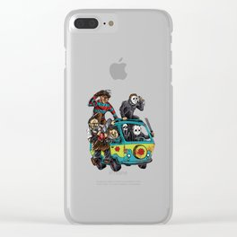 The Massacre Machine Clear iPhone Case
