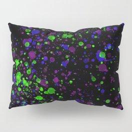 Neon Splash Pillow Sham