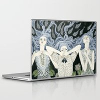 swim Laptop & iPad Skins featuring Swim by Yuliya