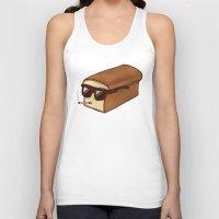 bread Tank Tops featuring Cool Bread by Josh LaFayette