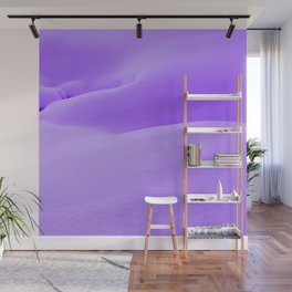 Purple Snow Wall Mural