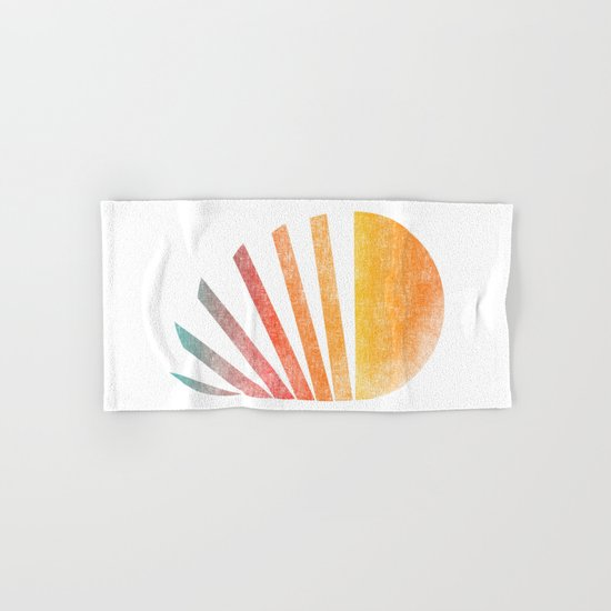 Raising sun (rainbow-ed) Hand & Bath Towel
