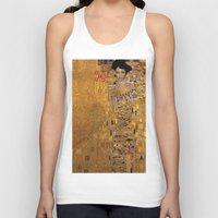 sofa Tank Tops featuring Bey on her Gold Lamé Sofa by Carter Family Portraits