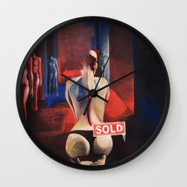 La Musa / The Muse Wall Clock