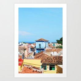 68. Trinidad on the Ocean, Cuba Art Print