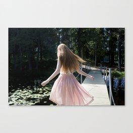 Daydreamers resort Canvas Print