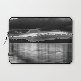 """""""Sunset After The Storm""""  BW Laptop Sleeve"""