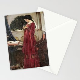 John William Waterhouse - The crystal ball Stationery Cards