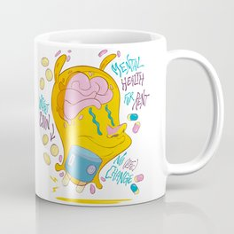 Mental Health for Rent Coffee Mug