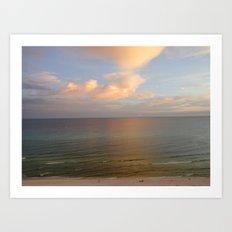 Florida Sunset Art Print